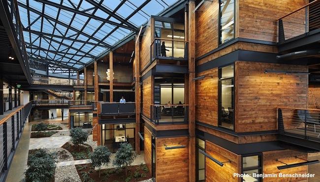 Federal Center South Building 1202, Seattle, Wash. Photo: Benjamin Benschneider,
