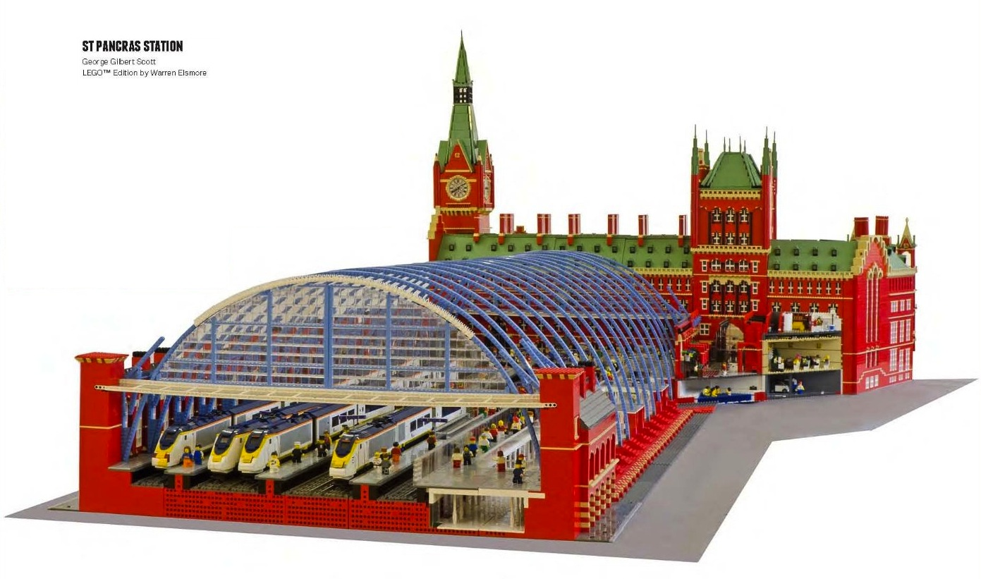 A Lego Lovers Dream Guide To Building The Worlds Iconic