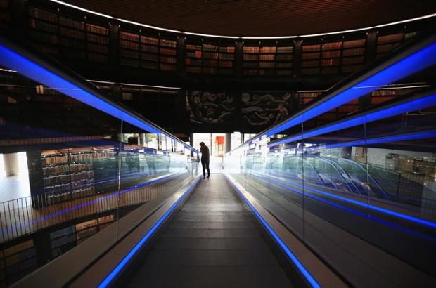 Library of Birmingham, designed by Mecanoo. Photo credit: Christopher Furlong/Ge