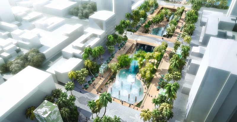 MVRDV to turn outdated Taiwanese mall into urban lagoon