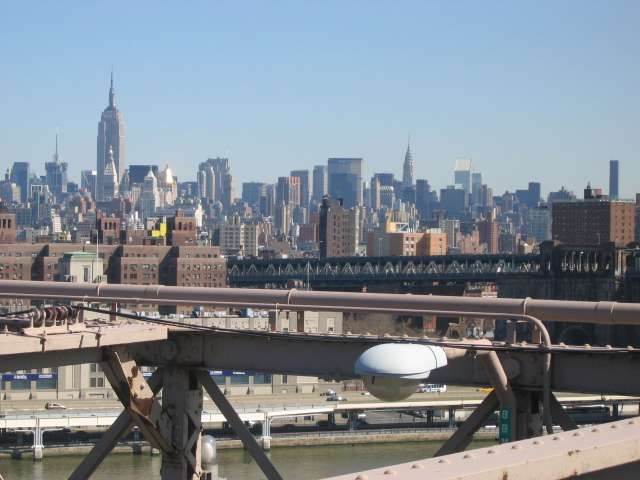 Midtown from Brooklyn Bridge. Photo: Mark Jaroski. Licensed under Creative Commo