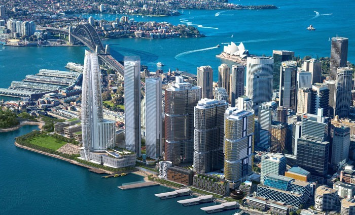 Developers confirm Renzo Piano's contribution in Sydney harbor overhaul