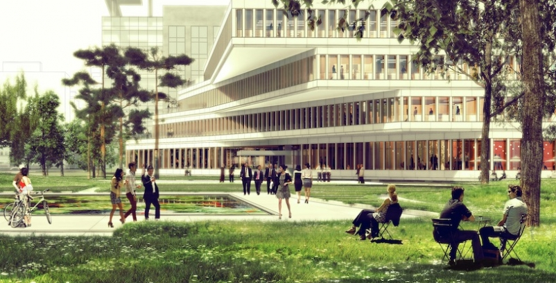 Haeahn Architecture wins design competition for Seoul work and press center