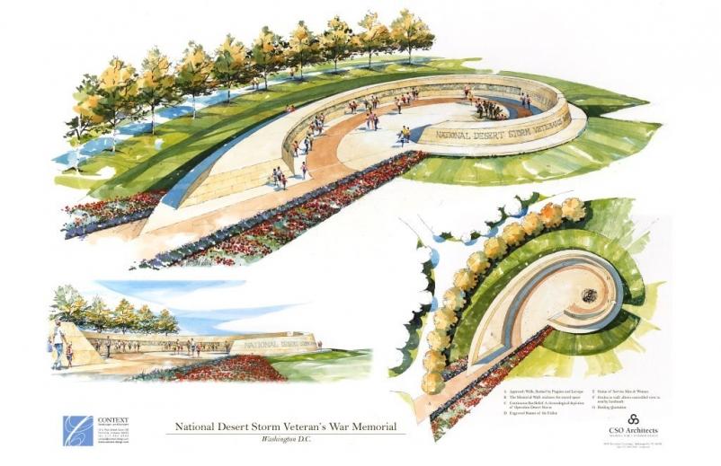 National Desert Storm War Memorial