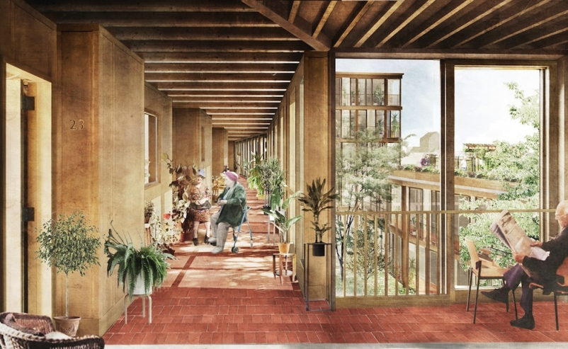 Witherford Watson Mann designs innovative South London elderly community