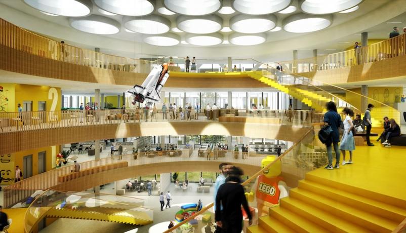 CF Møller designs LEGO world headquarters complex in Denmark