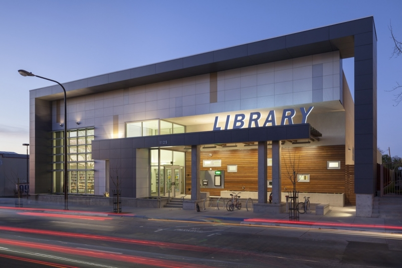 Berkeley's West Branch Library generates more energy than it uses