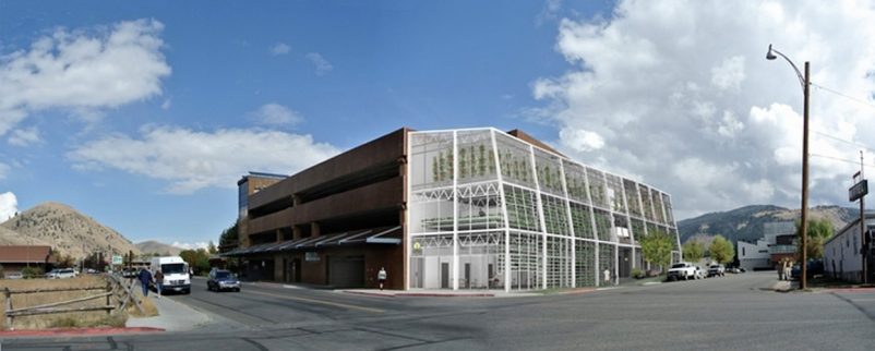 Vertical urban greenhouses will feed import-reliant Jackson Hole, Wyo.