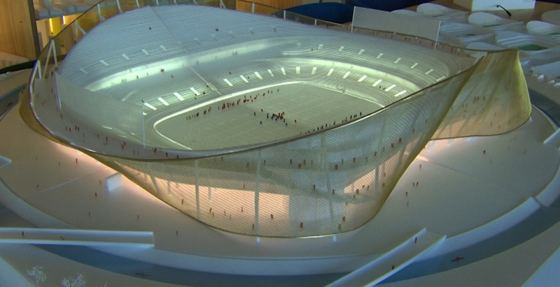 Washington Redskins tease new stadium model designed by Bjarke Ingels