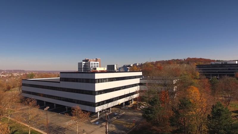 The exterior of 5 Garret Mountain Plaza