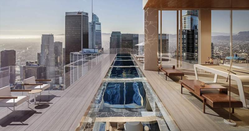 5th and hill cantilevered pool