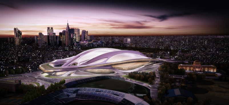 Japan announces new plan for Olympic Stadium
