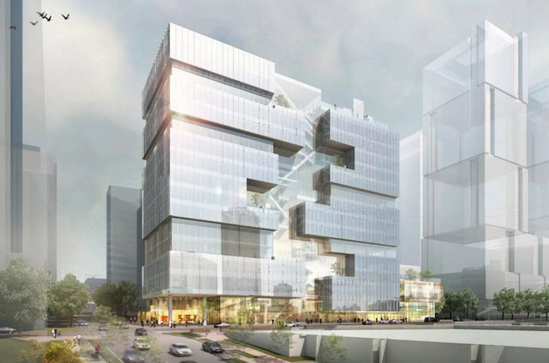 amazons newest office building will be an urban treehouse