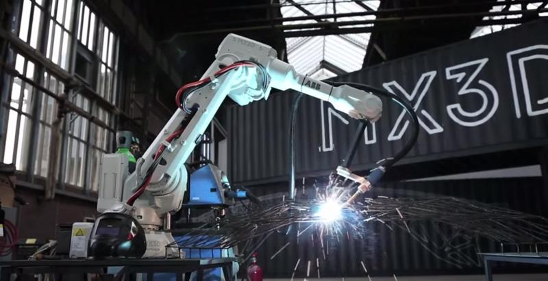 A steel bridge in Amsterdam will be 3D printed
