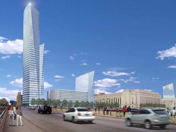 The $158 million student residential tower at Brandywine Realty Trusts Cira Sou