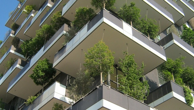 Designed by Boeri Studio and developed by Hines, a vertical forest in Milan will