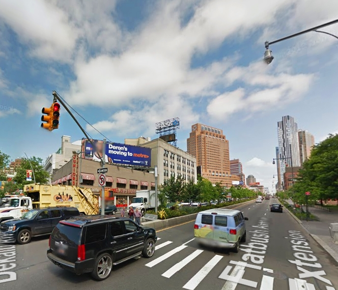 Downtown Brooklyn. Image via Google Maps