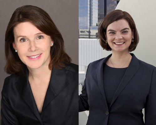 Cynthia Radecki (left) and Anne Taylor Carros (right)