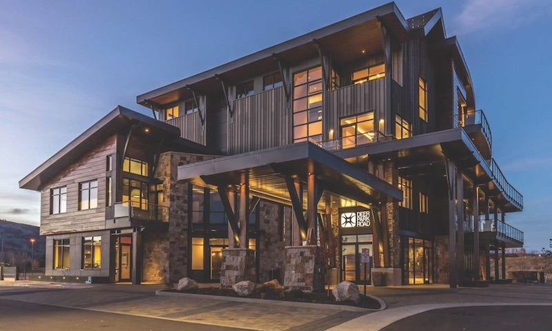 The New Home For Investment Management Company Deer Park Road Corp., The  26,000 Sf, Four Story Deer Park Office Building In Steamboat Springs,  Colo., ...