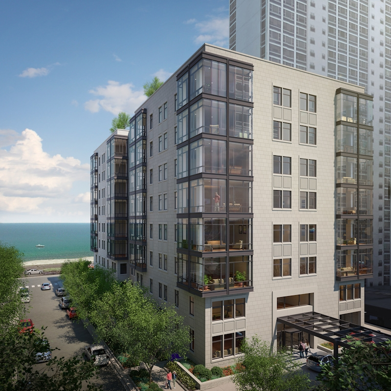 Luxury Apartment: New 58-unit Luxury Apartment Building Under Construction