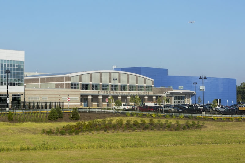 Exterior of High Tech High School
