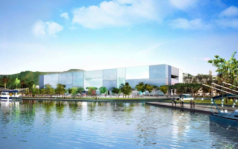 Ground Breaks on Innovative Museum Design by Foster + Partners