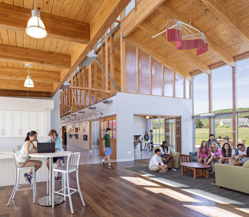 16 stunning wood buildings win 2015 wood design awards - Innovative Wood Beam Ceiling