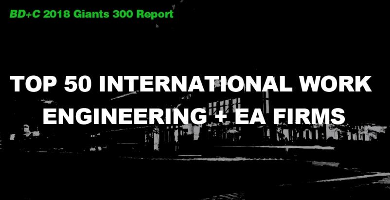 Top 50 International Work Engineering + EA Firms [2018 Giants 300 Report]