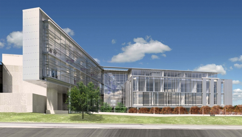 The new College of Engineering expansion was designed by Perkins+Will and Moment