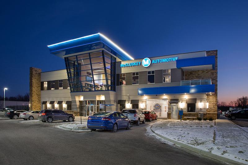 McCluskey Headquarters exterior