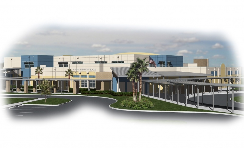 Plumosa School of the Arts has been awarded LEED Gold by the USGBC.