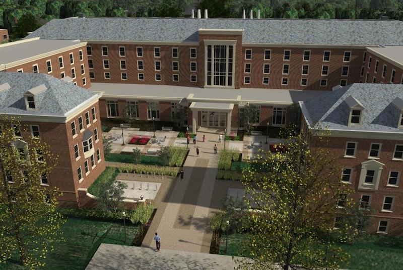 Rendering of the updated Pioneer Hall