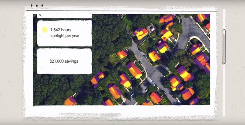 Google Develops Google Maps for Solar Energy