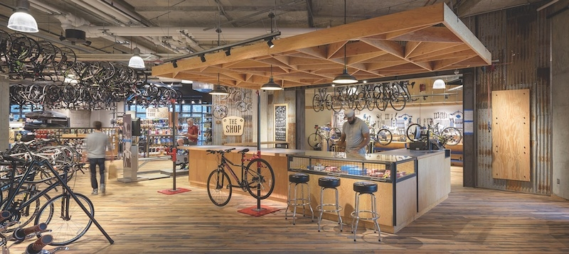 REI's flagship store in Washington, D.C.