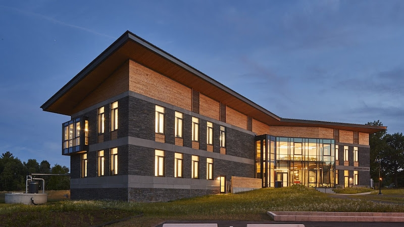 The R.W. Kern center at Hampshire College