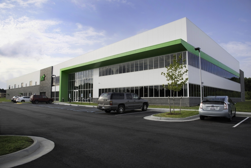 MetlSpan insulated panels used on INIT's HQ