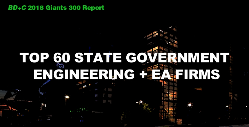 Top 60 State Government Engineering + EA Firms [2018 Giants 300 Report]