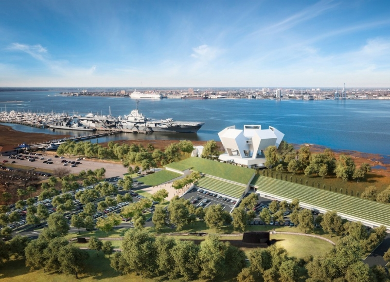 Designs for National Medal of Honor Museum by Safdie Architects unveiled