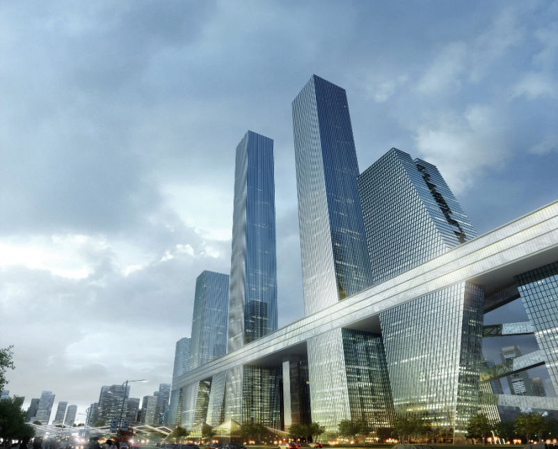 Local architects design a Sky Street for Shenzhen Bay City competition
