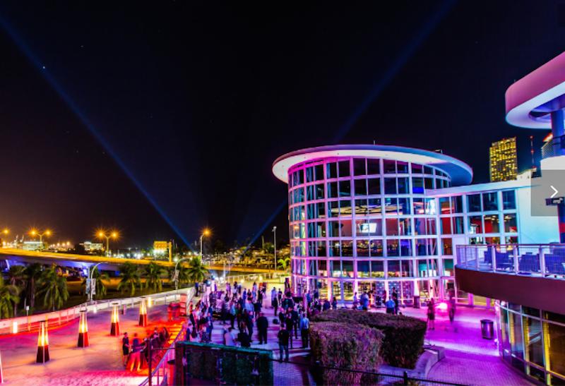 Miami S Americanairlines Arena Debuts A Multipurpose Event