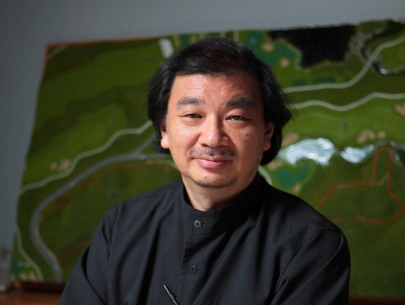 Shigeru Ban. Photo by Shigeru Ban Architects
