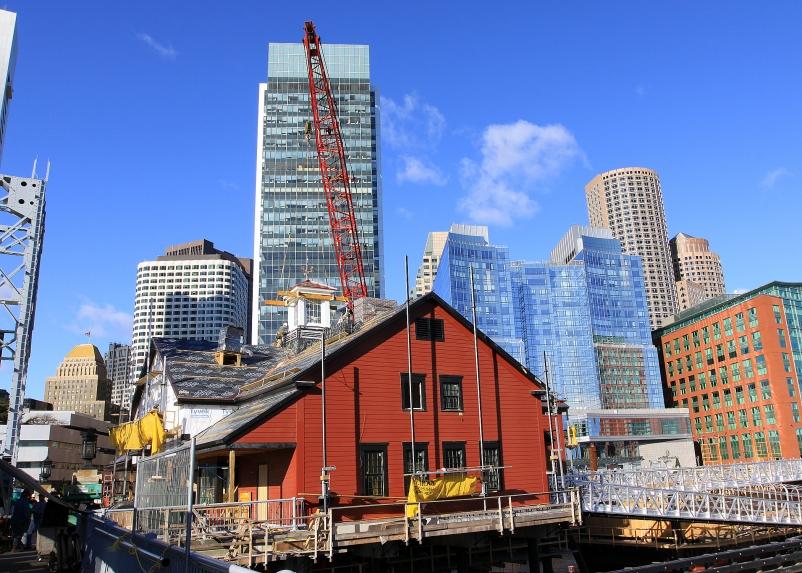 Suffolk Construction Boston Tea Party