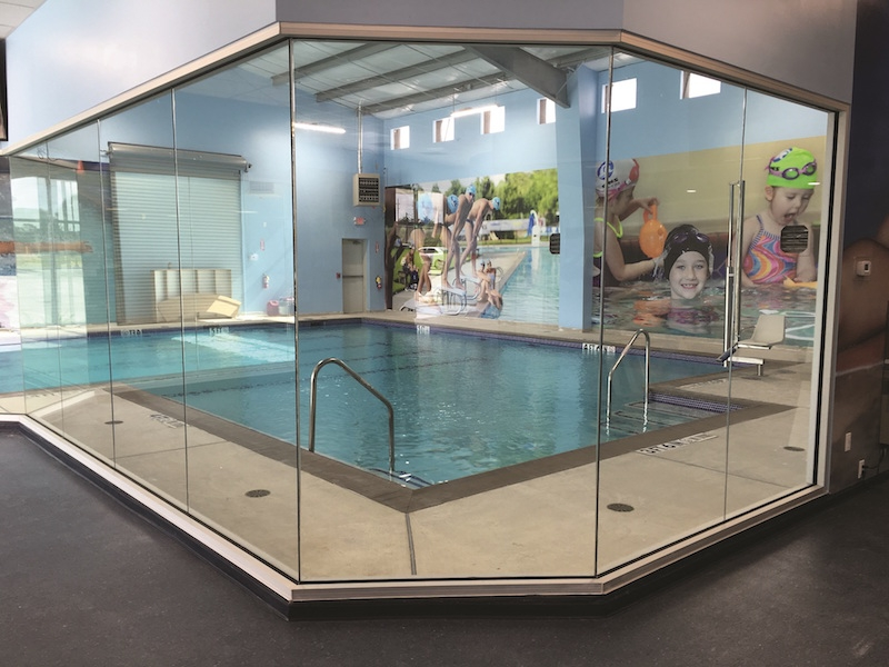 Indoor pool space