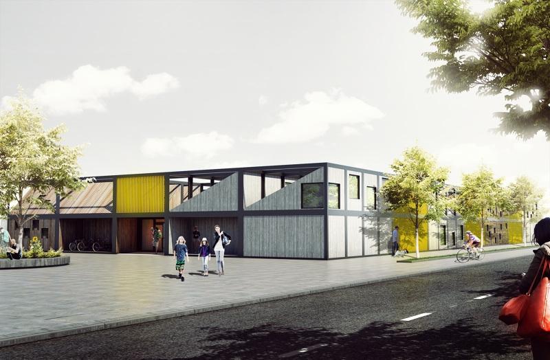 Polish architect designs modular \'kids city\' kindergarten using ...