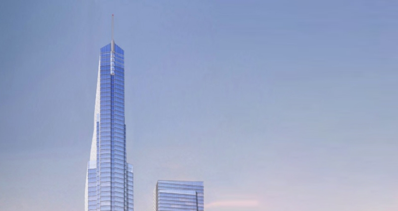 An upcoming tower in Chicago aims to be in the city's top five tallest