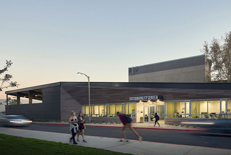 The CSU Northridge Sustainability + Recycling Center