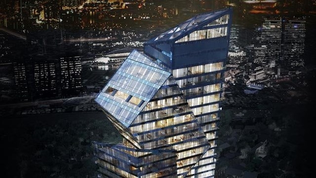 Century Spire will reach 60 stories when construction is complete. Renderings: c