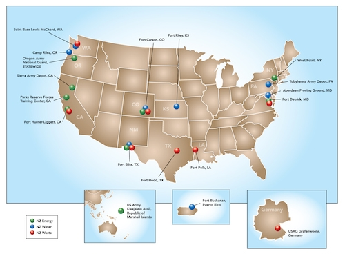 Map: U.S. Army
