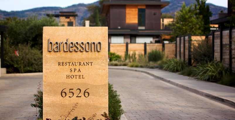 The Bardessono resort in Yountville, Calif., tops TripAdvisor's list of highly r