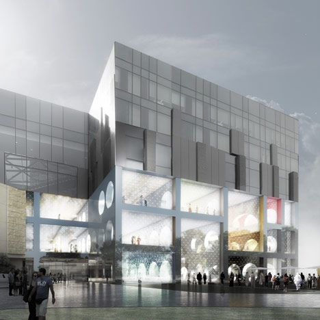 The Exhibition Hall by OMA